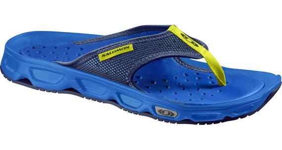 Salomon RX Break Sandals Men bright blue/union blue/gecko green